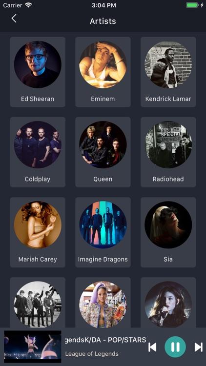 MusicOZ: Music player screenshot-3