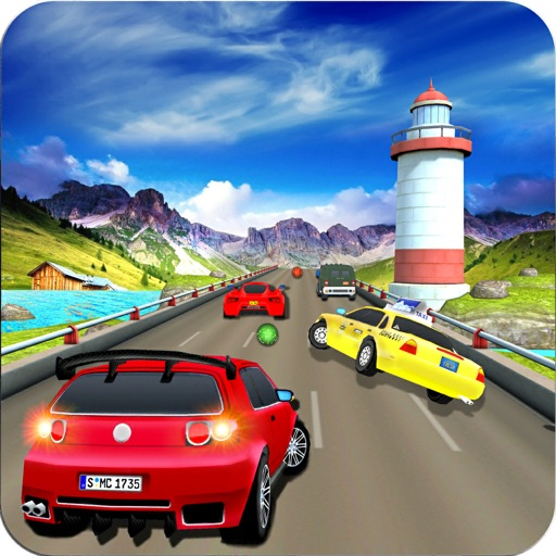 Highway Speed Car Racing