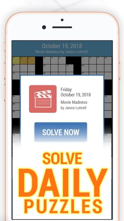 Daily POP Crossword Puzzles screenshot-3