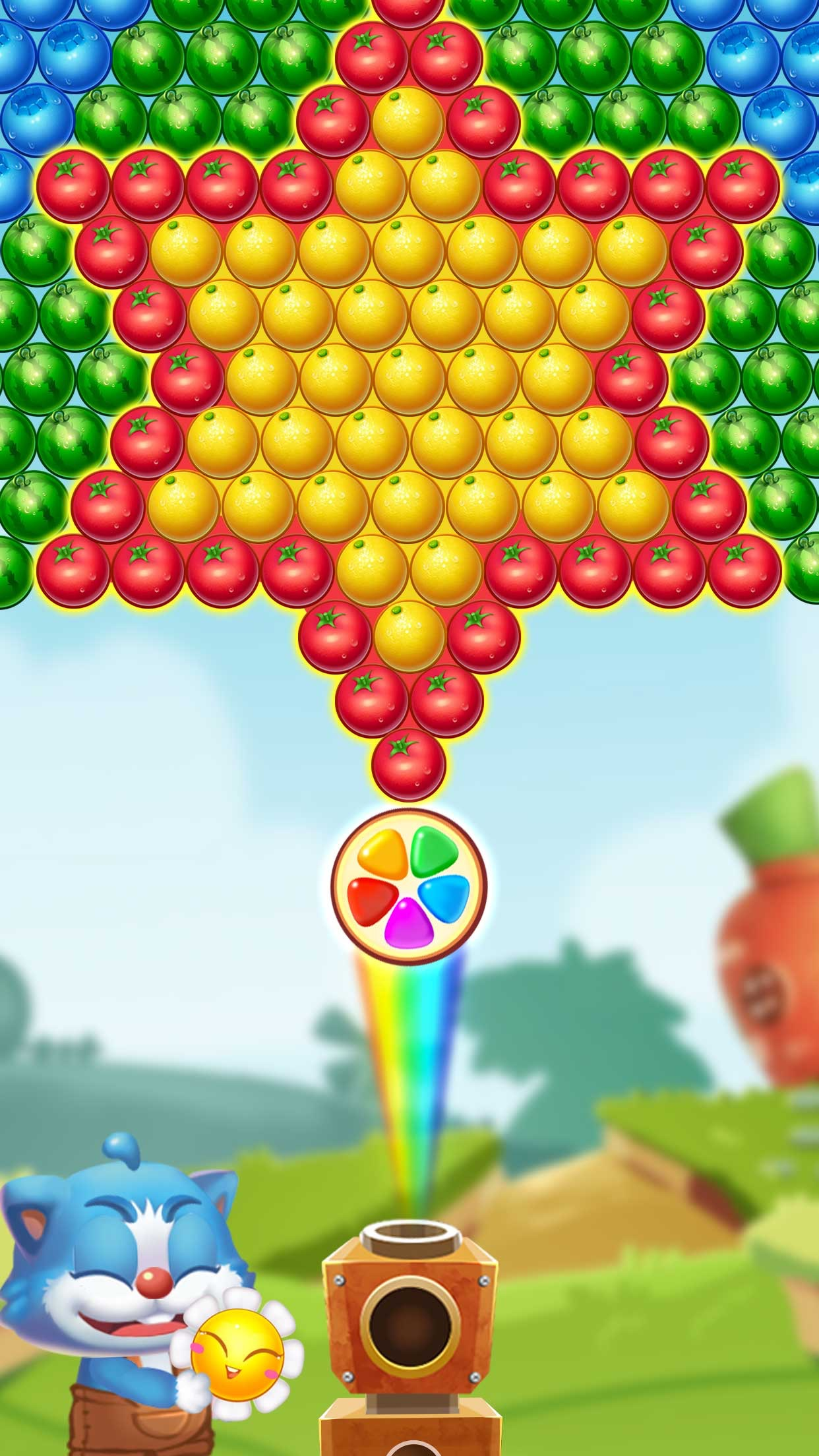Shoot Ball Fruit Splash Screenshot