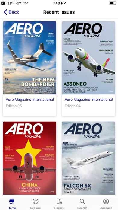 Aero Magazine InternationalScreenshot of 2