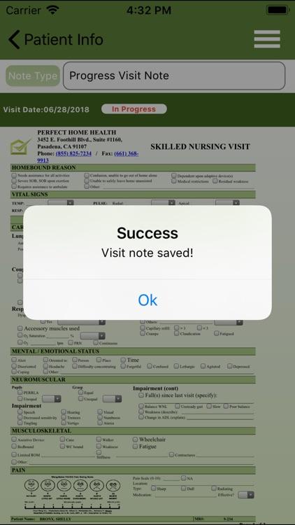 Perfect Home Health v2 screenshot-7
