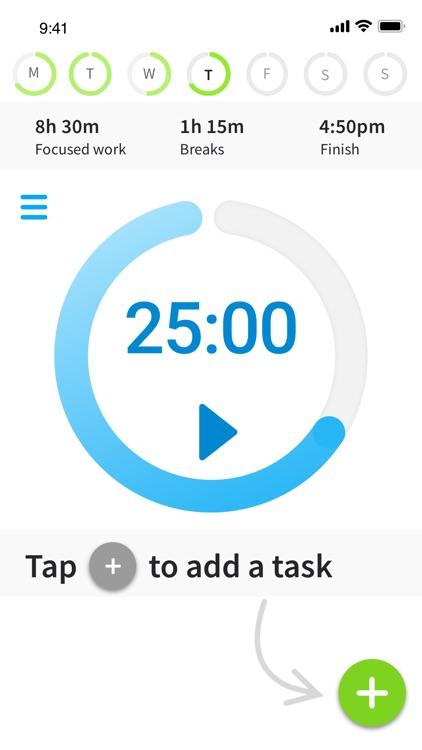 DayNinja - Flow & Focus Timer+ screenshot-3