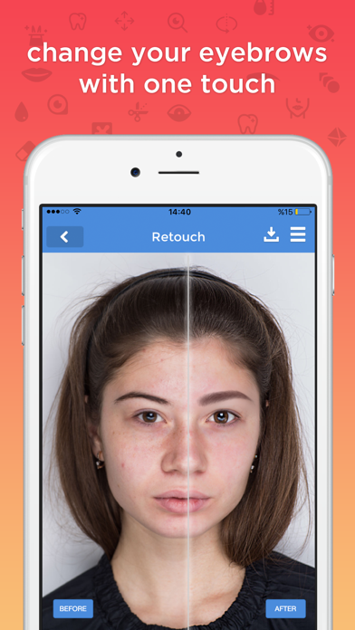 fixtouch - retouch & makeup screenshot two