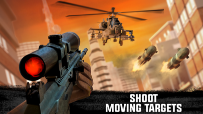 Screenshot for Sniper 3D: Fun Shooting Games in Qatar App Store