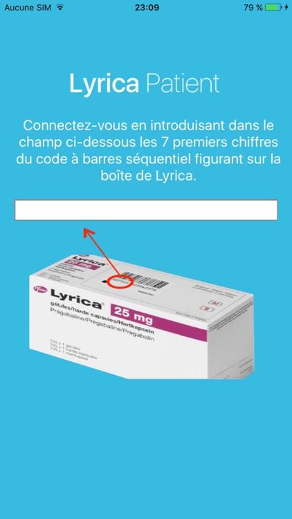 Lyrica Patient