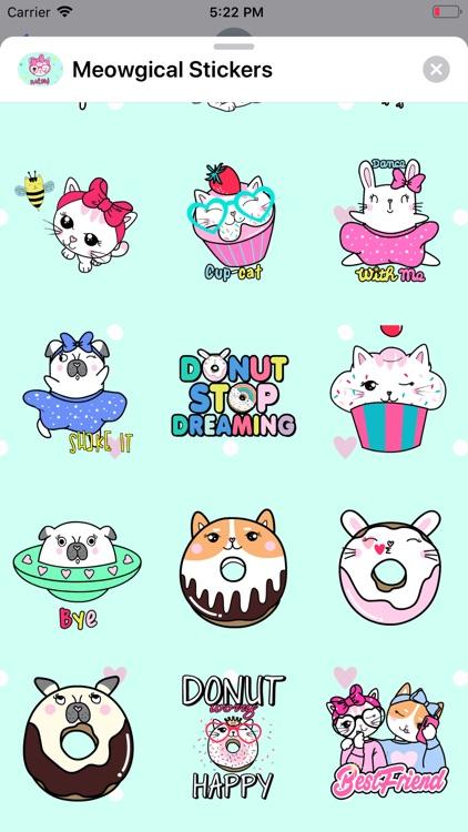 Meowgical: Animated Stickers screenshot-4