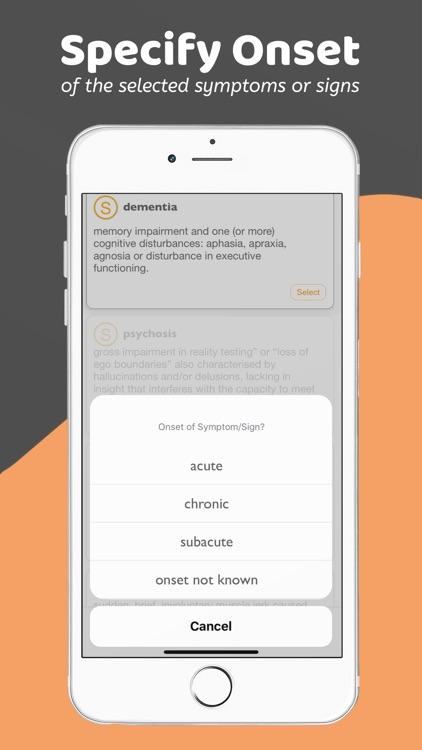 Neurology Pro - A DDx App screenshot-5