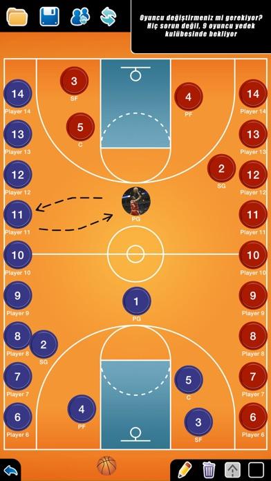 Screenshot for Basketbol: Taktik Tahtası in Turkey App Store