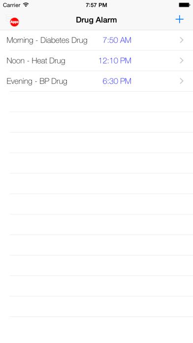 Drogen AlarmScreenshot von 1