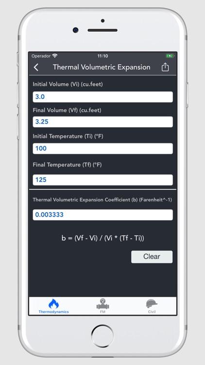 Thermodynamics Calculator screenshot-5