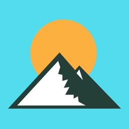 Ícone do app Altimeter GPS - Hike & Trek