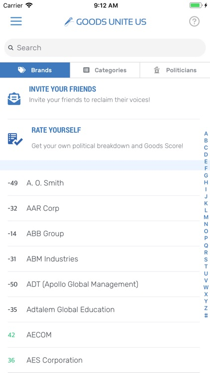 Goods Unite Us - Open Politics screenshot-4