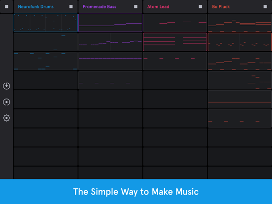 Auxy Jam - Simple Beat Maker screenshot 1
