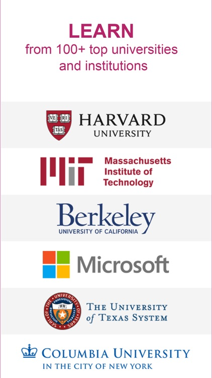 edX: Courses by Harvard & MIT screenshot-0
