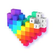 Voxel - 数字填色,AR涂色小游戏