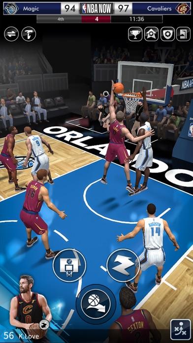 NBA NOW Mobile Basketball Game screenshot 5