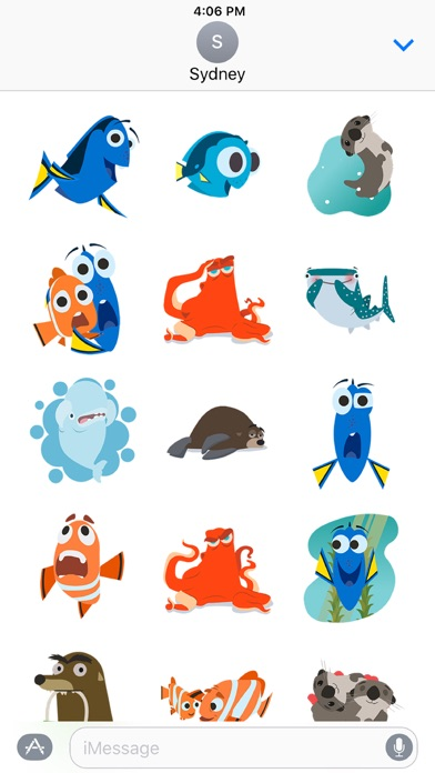 Disney Stickers: Finding Dory