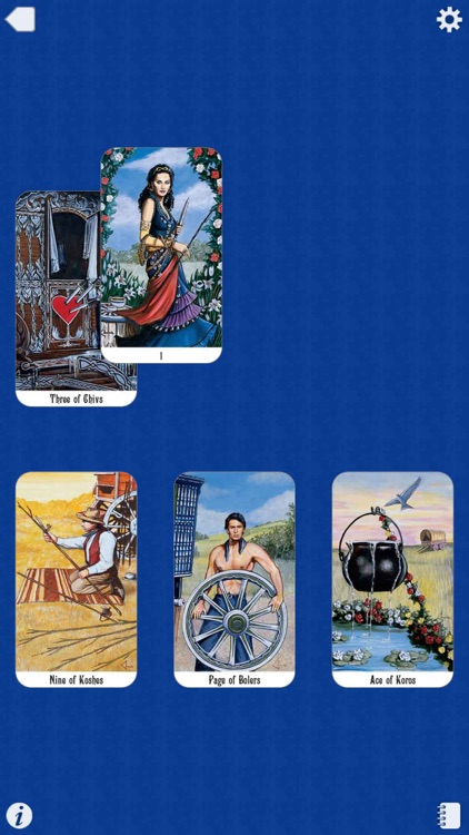 Romani Tarot screenshot-4