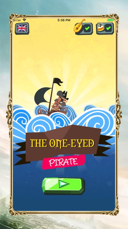 The one-eyed pirate App 截图