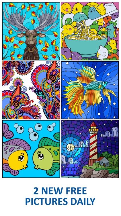 Line Art: Color by Number