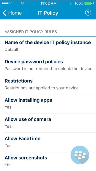 messages.download BlackBerry UEM Client software