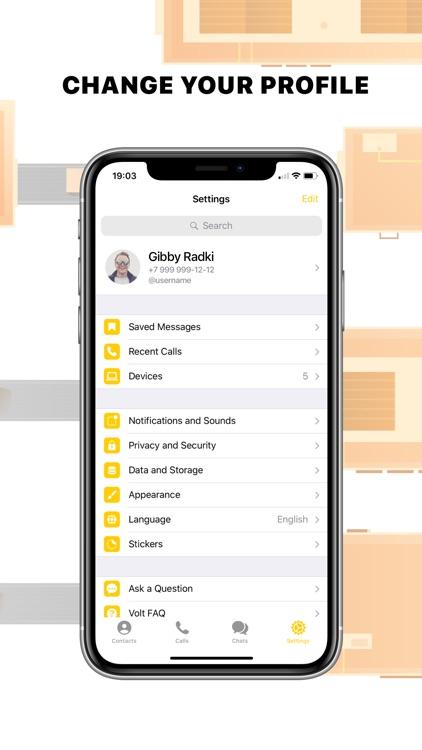 Volt Messenger screenshot-5