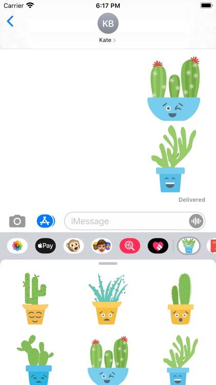 Cute Cactuss screenshot-3