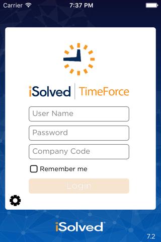 iSolved Timeforce - náhled