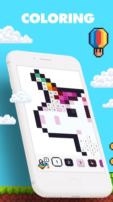 UNICORN: Pixel Art by Numbers for pc