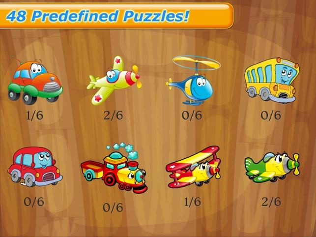 Cars Puzzle Fun Games for Kids Screenshot