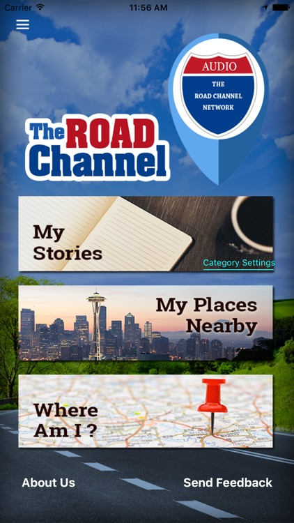 The Road Channel Road Trip App