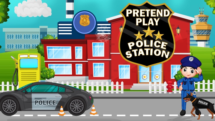 Pretend Play Police Station screenshot-3