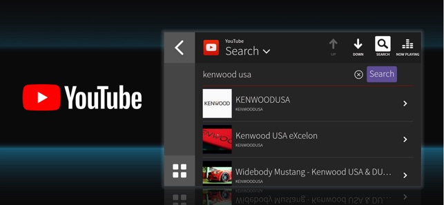 WebLink for KENWOOD on the App Store