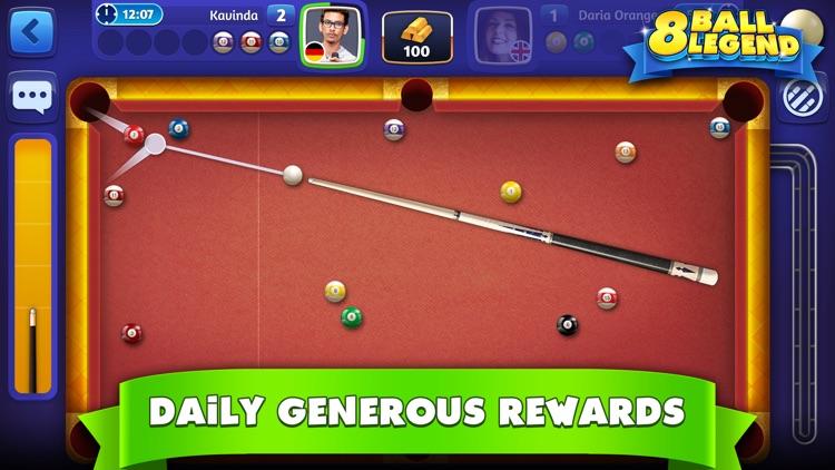 8 Ball Legend - Online Pool screenshot-4
