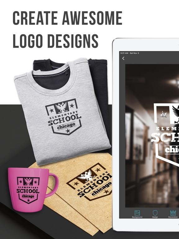 Ipad Screen Shot Logo Maker | Vintage Logo 0