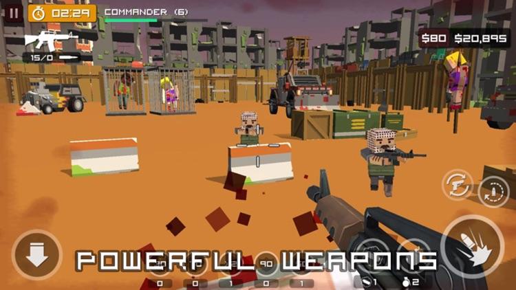 Block gun battle 3d screenshot-3