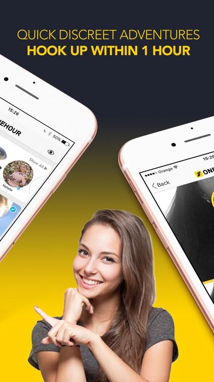 OneHour - Adult Hookup App
