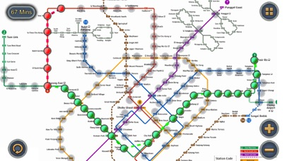 Singapore MRT Map Route by Wan Peng (iOS, United States