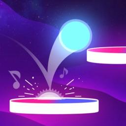 Bouncy Ball : music festival