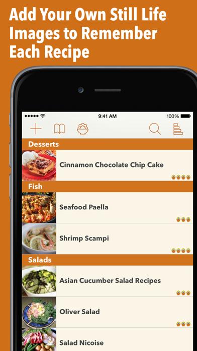 Recipe Gallery review screenshots