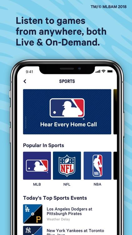 TuneIn: NBA, Radio & Podcasts screenshot-5