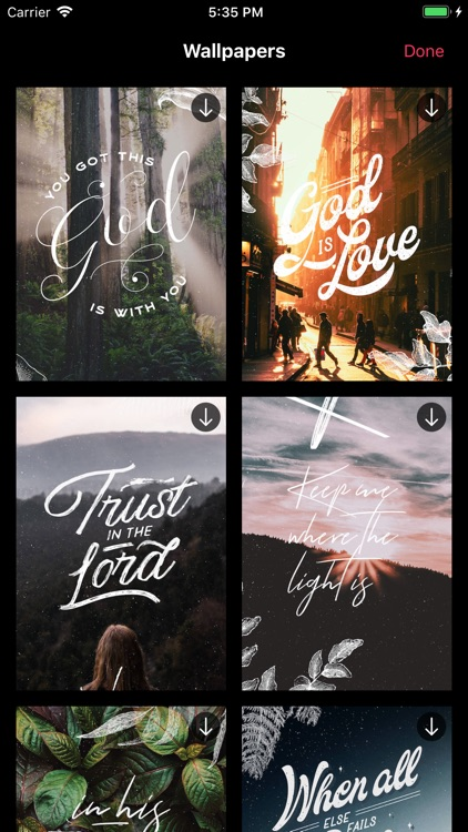 DBV: Bible Verses & Wallpapers