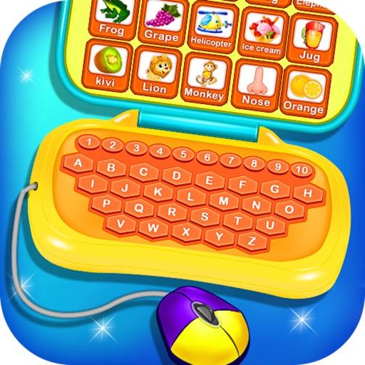 Alphabet Laptop - Educational icon