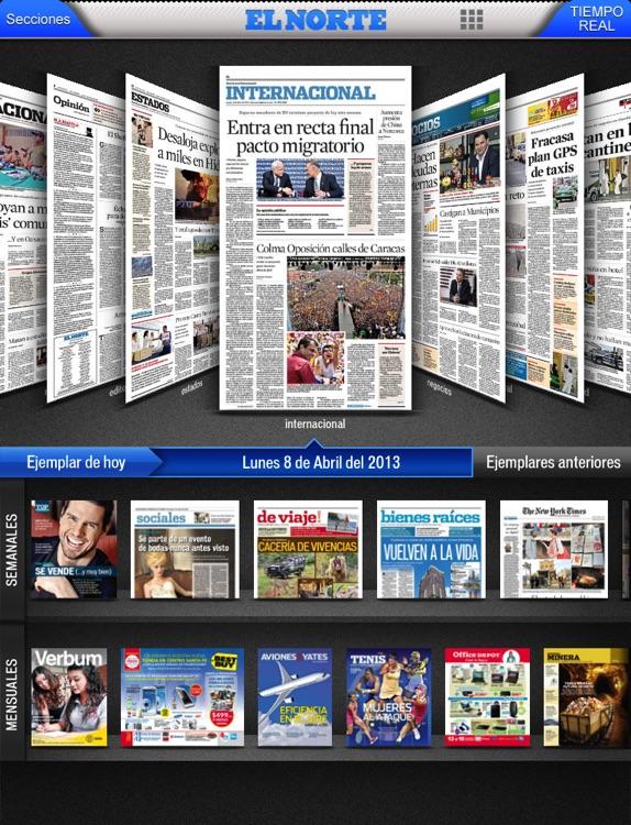 EL NORTE (en línea +impreso)