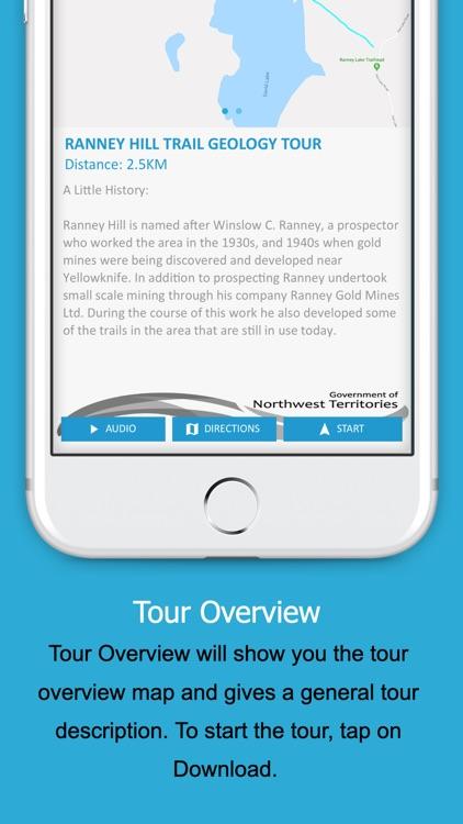 NWT Walking Tour App