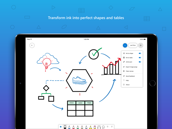 Microsoft Whiteboard screenshot 10