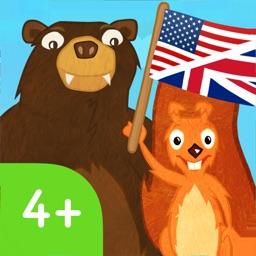 Squirrel & Bär lernen Englisch