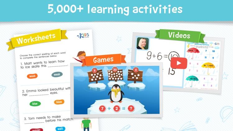 Kids Academy: Pre-K-3 learning screenshot-0