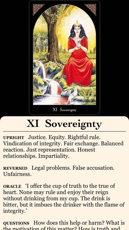 Arthurian Tarot screenshot-3